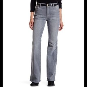 Joe's gray cool off  high rise flare jeans 28